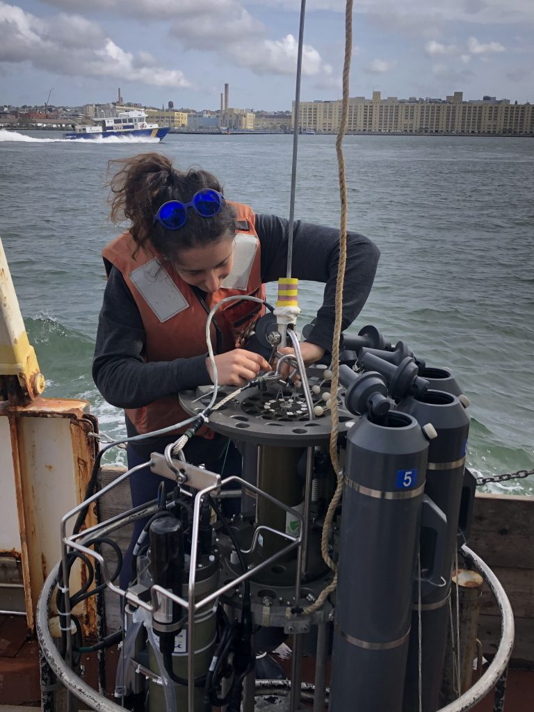 lab member working on SeaWolf